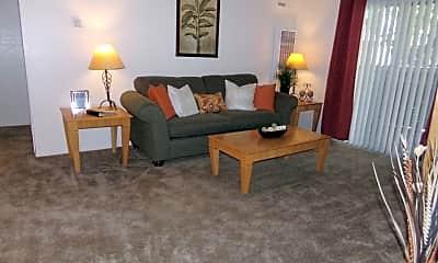 Living Room, Shasta Terrace, 0