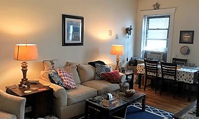 Living Room, 395 Harvard St, 1