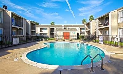 Pool, Sausalito Apartments, 0