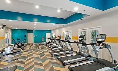 Fitness Weight Room, Decatur Highlands, 2