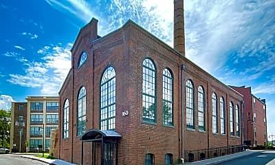 Building, Whitlock Mills, 2