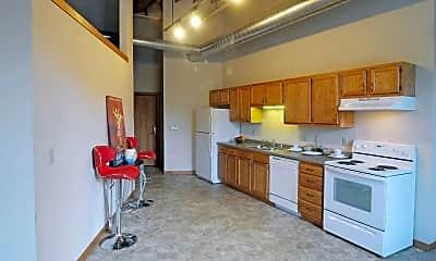 Kitchen, Knitting Factory Lofts, 2