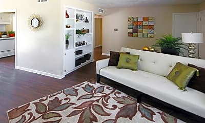 Living Room, Parkside Apartments, 1