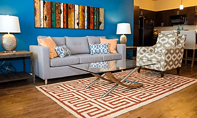 Living Room, Springs at McDonough, 0