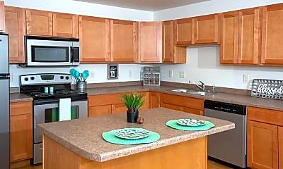Kitchen, Ashland Apartments, 0