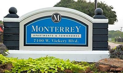 Community Signage, The Monterrey, 2