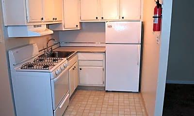 Kitchen, Cedar Court Apartments, 1