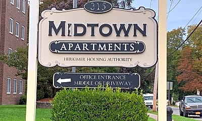 Mid Town Apartments, 1