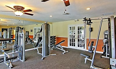 Fitness Weight Room, The Park at Salerno, 1