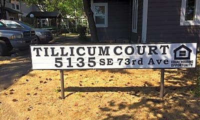 Tillicum Court, 1