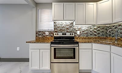 Kitchen, Birchwood Apartments, 1