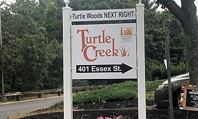 Turtle Creek And Turtle Woods, 1