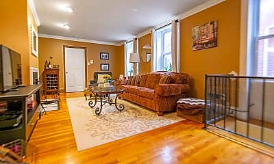 Living Room, 1710 Wallace St 2, 0