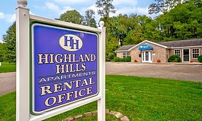 Community Signage, Hidden Hills Apartment Homes, 2