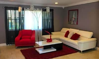 Living Room, 7920 NW 10th St, 2
