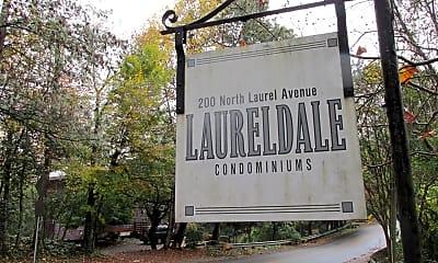 Community Signage, 200 N Laurel Ave, 2