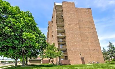 Building, Hazelcrest Place Apartments, 1