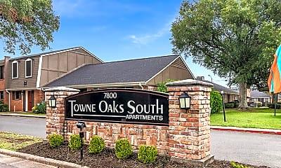 Community Signage, Towne Oaks South, 2