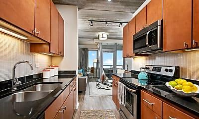 Kitchen, Oak Park Place, 0