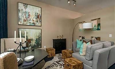 Living Room, 77027 Properties, 1
