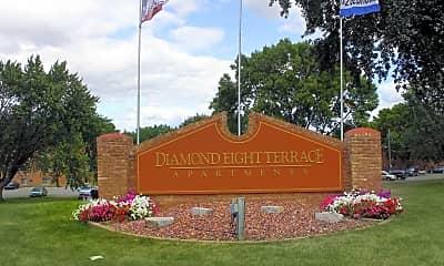Community Signage, Diamond Eight Terrace, 2