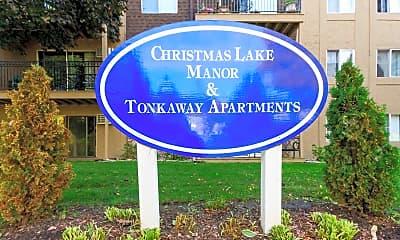 Community Signage, Tonkaway Apartments, 2