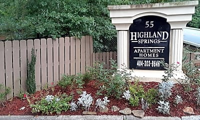 Highland Springs, 1
