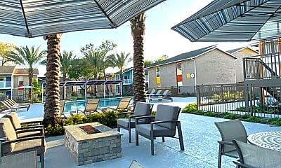 Pool, Zocalo Apartments, 1