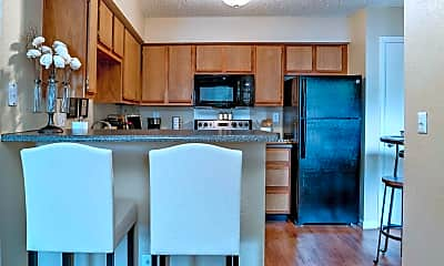 Kitchen, Country Club West Apartments, 1