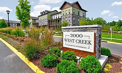 Community Signage, 2000 West Creek Apartments, 2