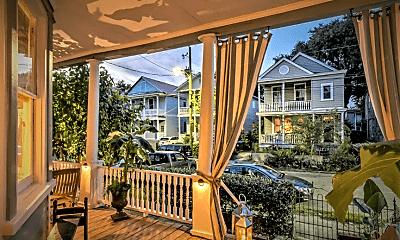 Patio / Deck, 125 Fishburne St, 1