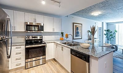 Kitchen, 2165 Van Buren St 506, 1