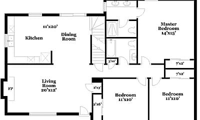 Building, 6805 E 144th Pl, 1