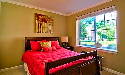 Bedroom, University Apartments - Durham, 1