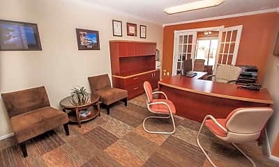 Living Room, Ponderosa Apartments, 2