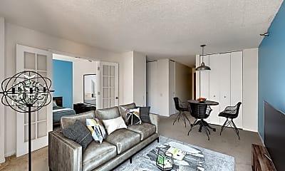 Living Room, 1122 N Clark St 2209, 1