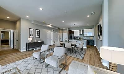Living Room, 8025 Skokie Blvd, 1