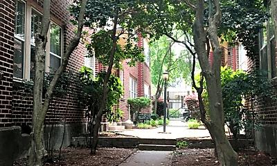 Building, 418 E 6th St, 1