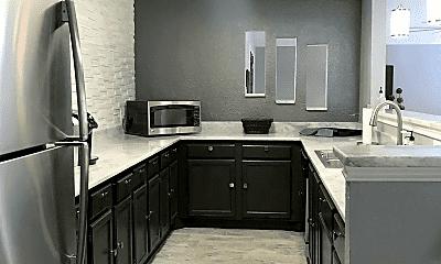 Kitchen, Trinity Heights Apartments, 2