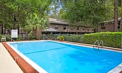 Pool, Brookwood Terrace Apartments, 2