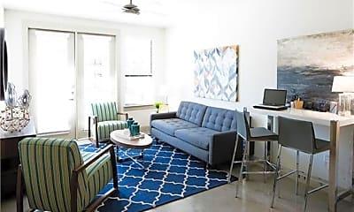 Living Room, 7606 Eastern Ave 306, 2