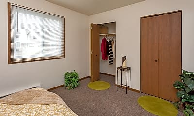 Bedroom, Newton Park Apartments, 1