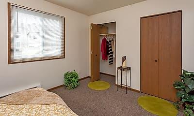 Bedroom, Newton Park Apartments, 1