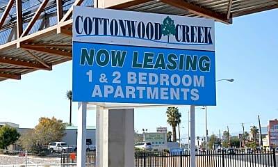 Community Signage, Cottonwood Creek, 2