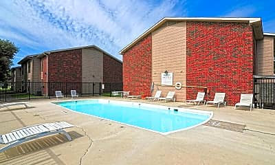 Pool, Willows Apartments, 2