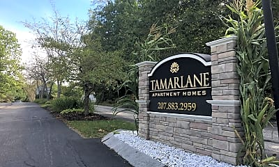 Community Signage, Tamarlane Apartments, 2