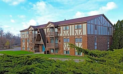 Building, Chalet Villa Apartments, 0