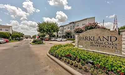 Community Signage, Parkland at West Oaks, 2