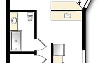 Bathroom, 1522 N Lafayette St, 2