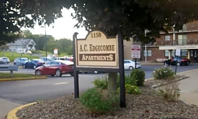 A.C. Edgecombe Apartments, 1